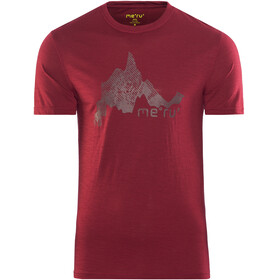 Meru M's Tumba SS Shirt Rhubarb
